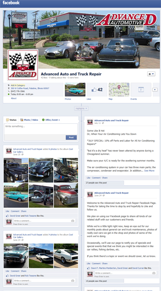 Advanced Auto and Truck Repair - Facebook